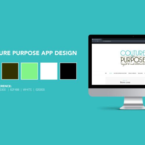 Couture Purpose Runway App