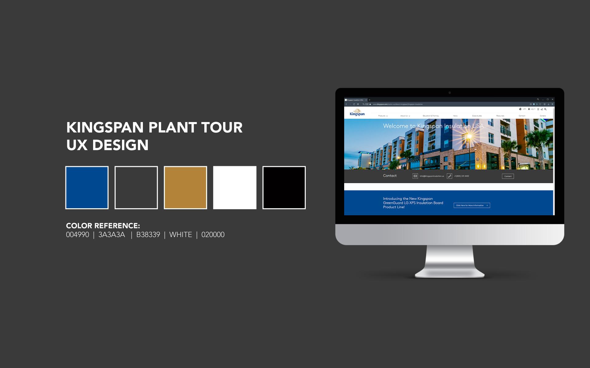Kingspan UX Design
